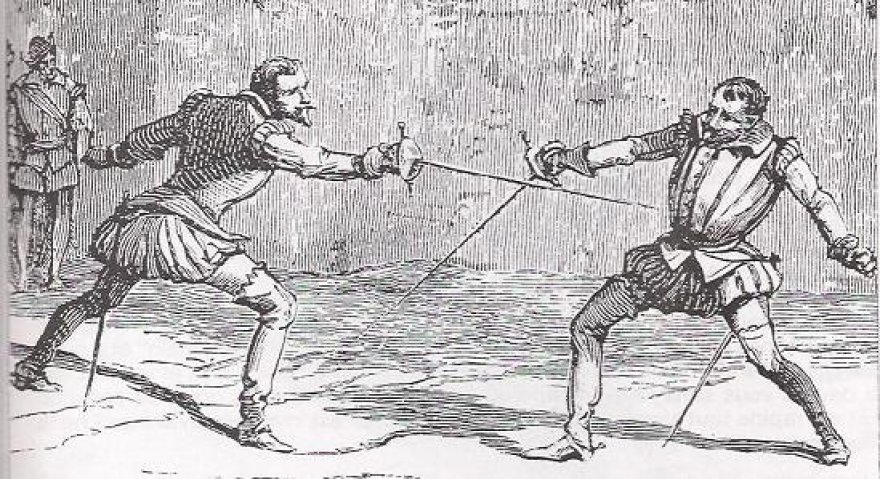 LDK Statutas už dvikovą numatė mirties bausmę