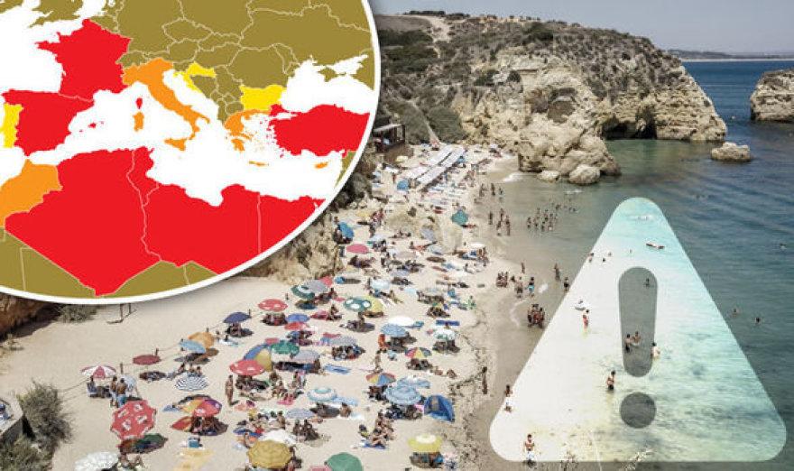 Galimomis teroristų atakų vietomis britų vyriausybė įvardino ir Ispaniją bei Prancūziją