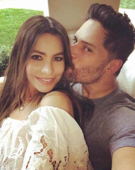 """Instagram"" nuotr./Sofia Vergara ir Joe Manganiello"