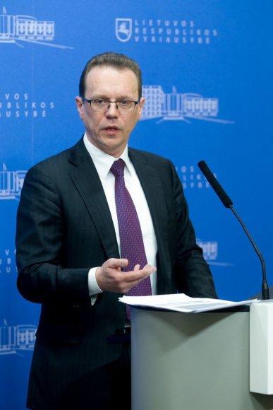 Europos Komisijos narys Algirdas Šemeta