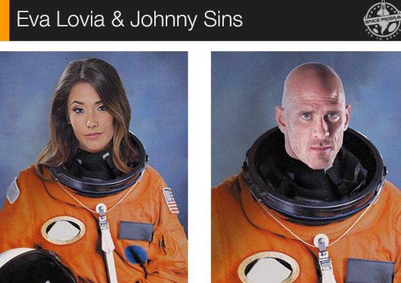 Kosmose žadama susukti pirmą pornografinę juostą