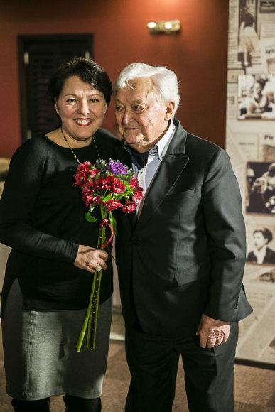Viganto Ovadnevo/Žmonės.lt nuotr./Lolita Bytautaitė ir Algimantas Čekuolis