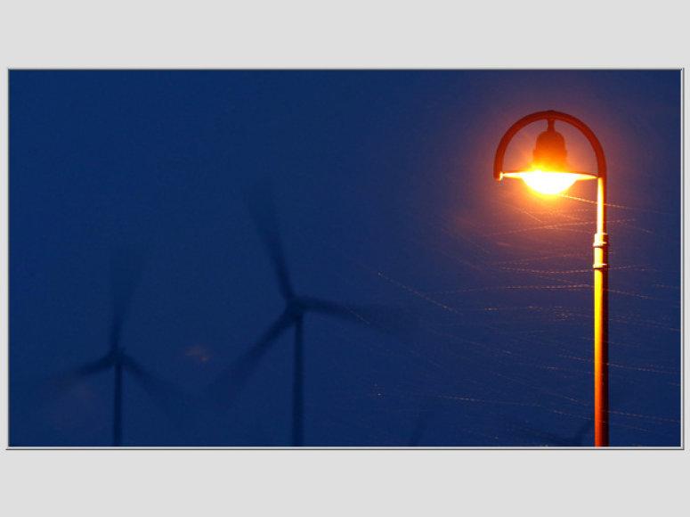 Vėjo jėgainė Vokietijoje