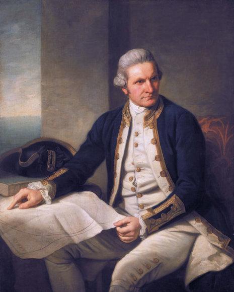 Jameso Cooko portretas (1728–1779 m.)