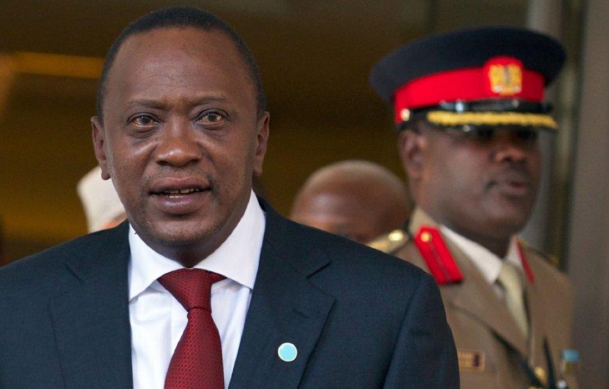 Kenijos prezidentas Uhuru Kenyatta