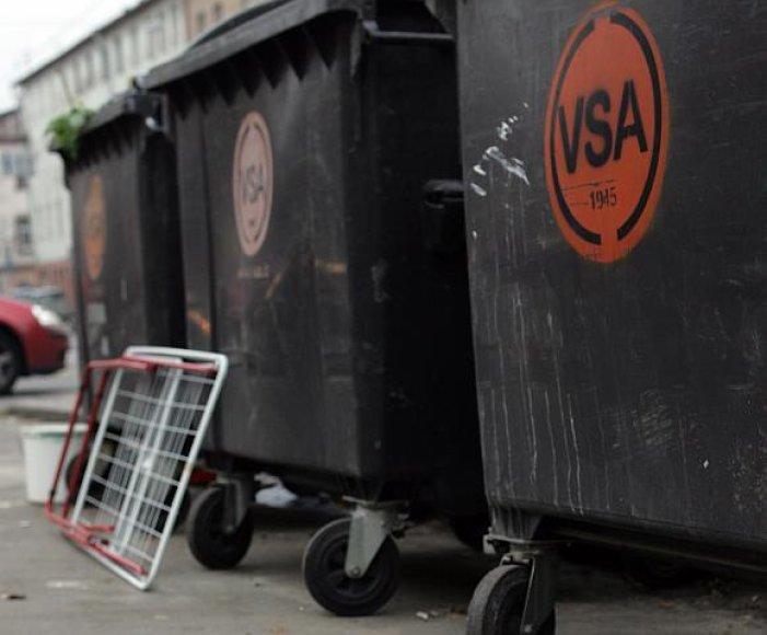 Šiukšlių konteineriai