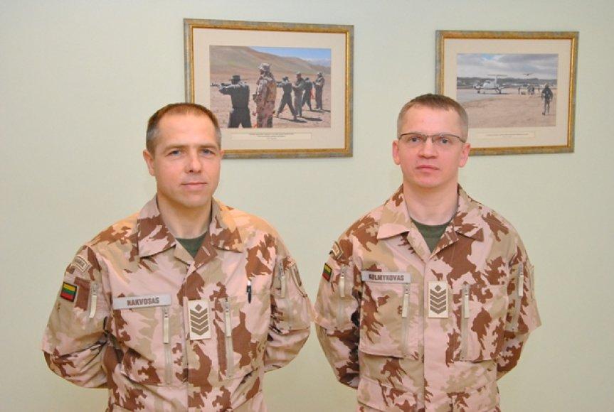 Lietuviai palydėti į misiją Malyje