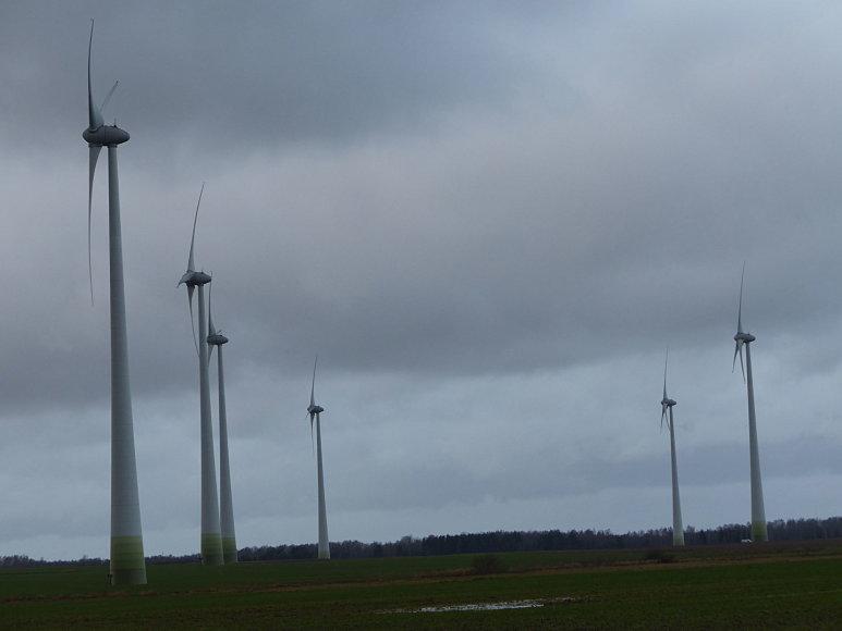 Vėjo jėgainės suka apsukruolliams turtus