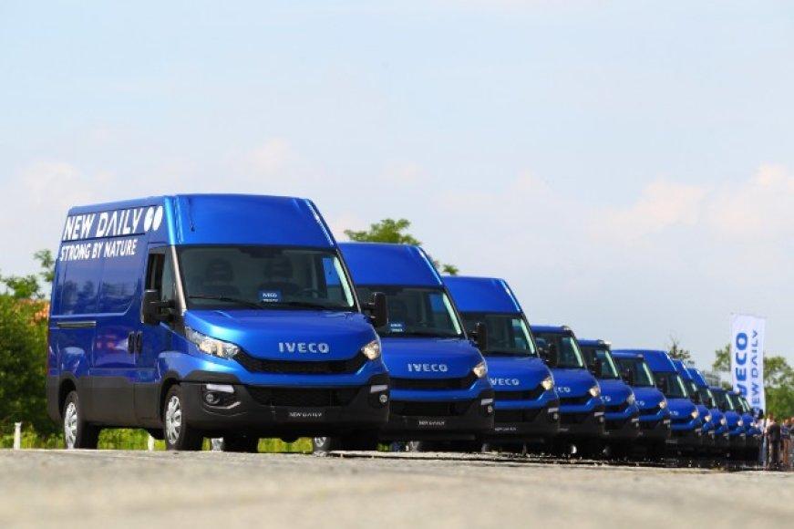 """Iveco Daily"" mikroautobusai"
