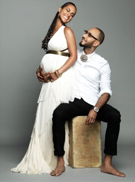 Alicia Keys ir Swizz Beatz
