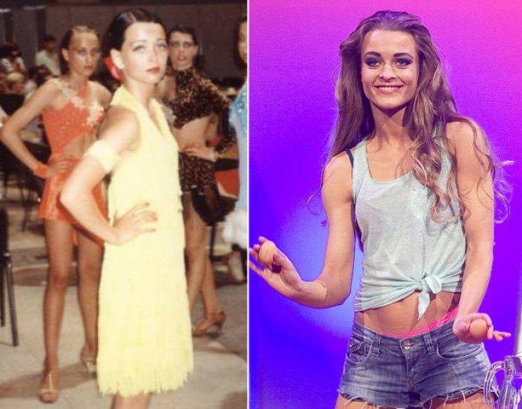 Milana Jašinskytė 14 metų ir dabar
