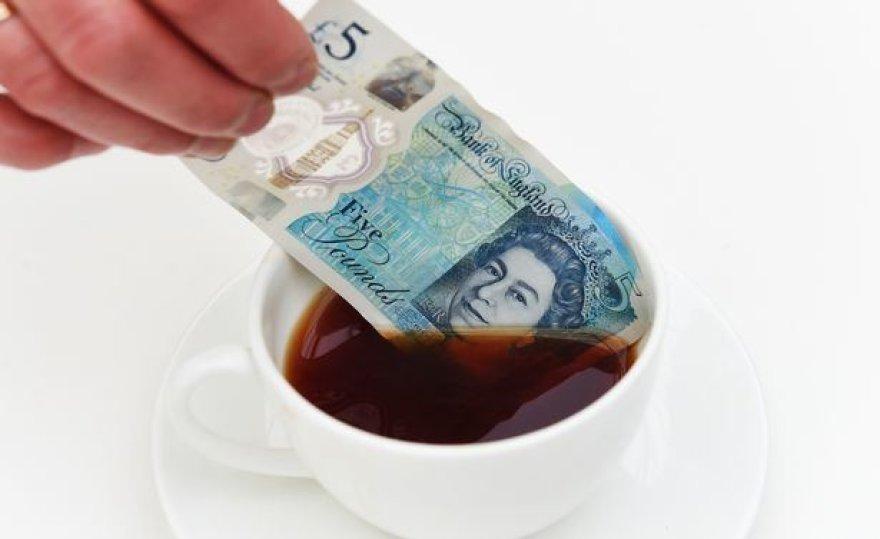 Naujasis 5 svarų banknotas