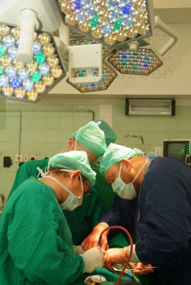 Inkstų transplantacija Santariškėse