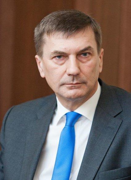 Estijos premjeras Andrus Ansipas