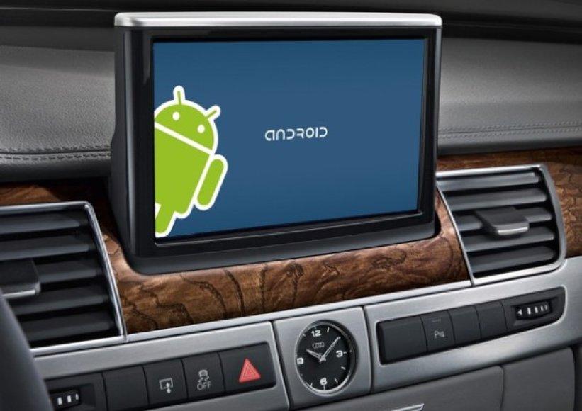 """Google Android"" sistema automobilyje"