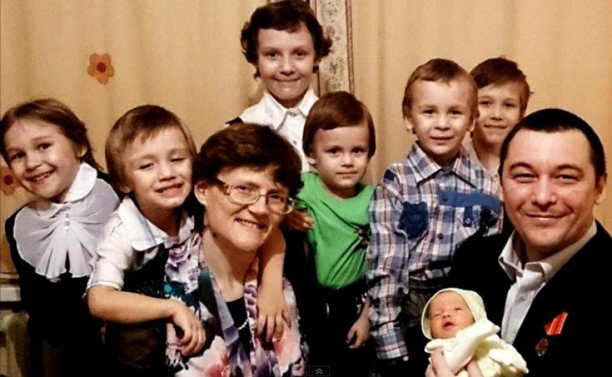 Daugiavaikė motina Svetlana Davidova apkaltinta Rusijos išdavyste