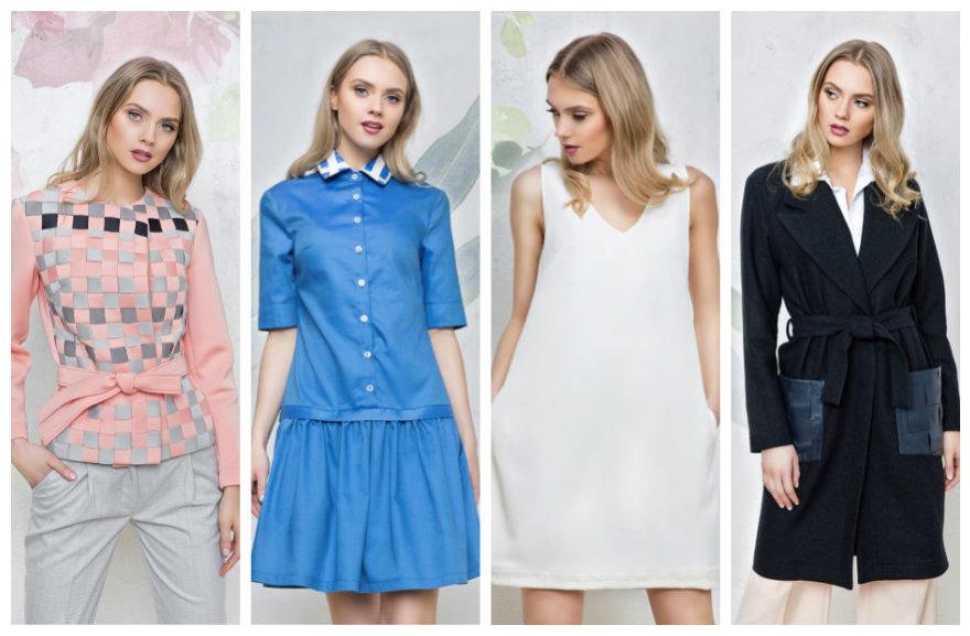 """""""Agne Fashion"""" 2017 m. pavasario-vasaros kolekcijos modelis"""