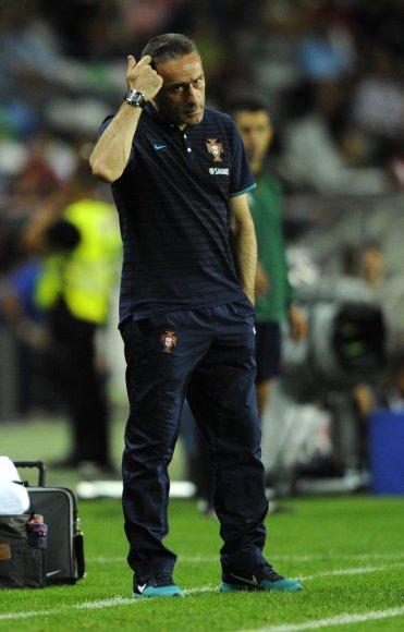 Portugalijos rinktinės treneris Paulo Bento