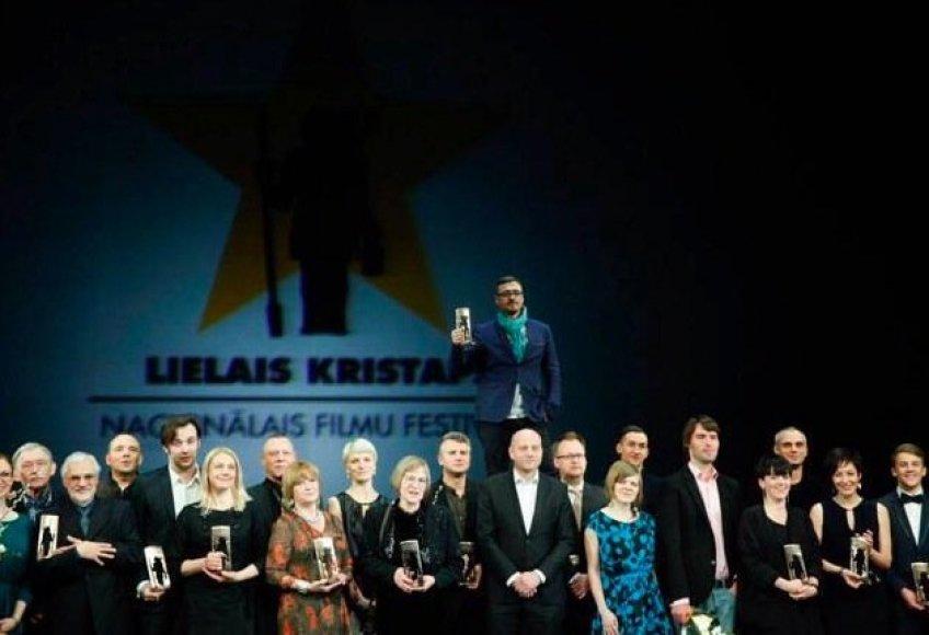 """Latvijos nacionaliniuose kino apdovanojimuose """"Didysis Kristupas 2014"""""""