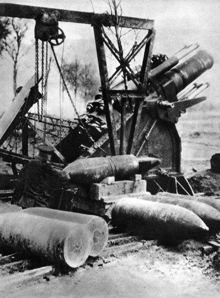 Didžiosios Britanijos sunkioji artilerija