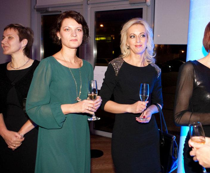 Inga Prievelienė (kairėje)