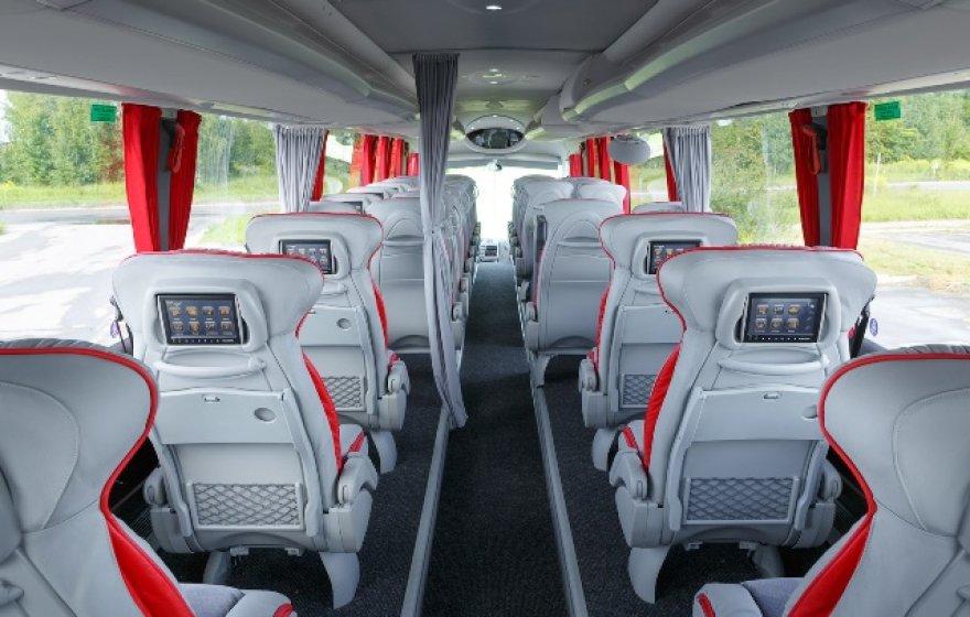 """Lux Express"" verslo klasės autobusas"