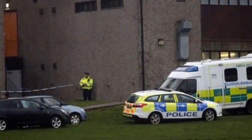 Škotijoje antradienį nuvirto mokyklos siena.