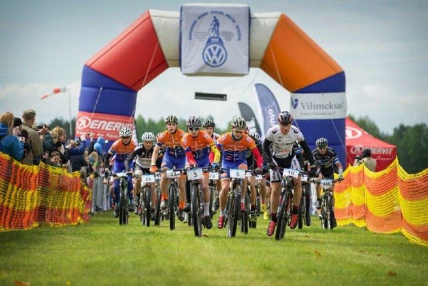 """""""Volkswagen MTB dviračių maratono taurė"""""""
