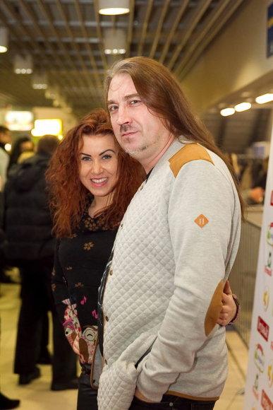 Vladas Kovaliovas ir Indrė Launikonytė