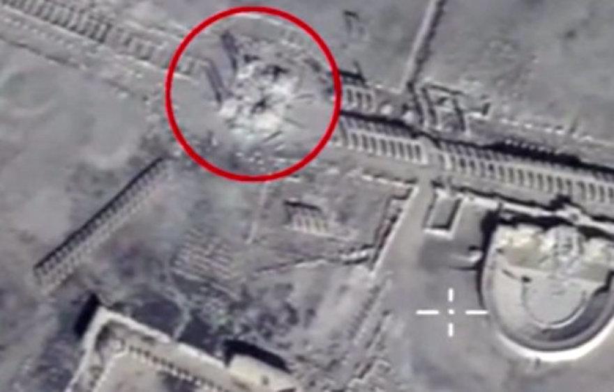 Džihadistai susprogdino Palmyros senovinio teatro liekanas