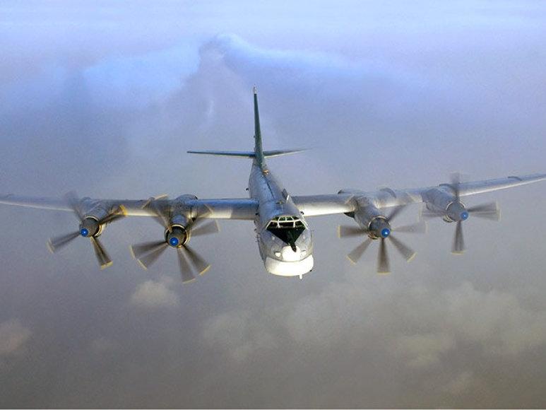 Rusijos strateginis bombonešis Tu-95