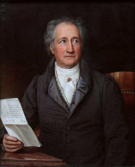 Vokiečių poetas Johannas Wolfgangas von Goethe