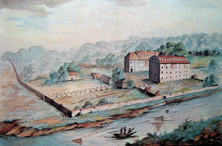 Vilniaus mokytojų seminarija įsikūrė Jėzuitų rūmuose, dabartinio Vingio parko teritorijoje