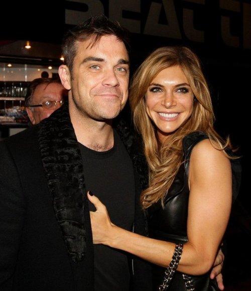 Robbie Williamsas ir Ayda Field