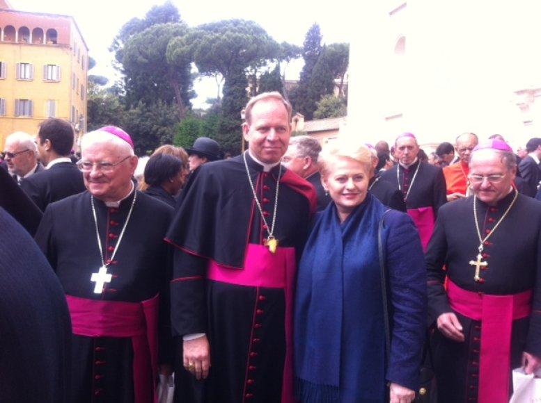 Dalia Grybauskaitė susitikime su Lietuvos arkivyskupais