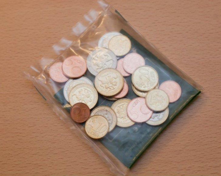 Eurų monetų rinkinys