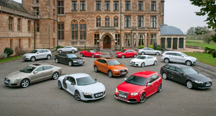 """""""Audi"""" automobiliai"""