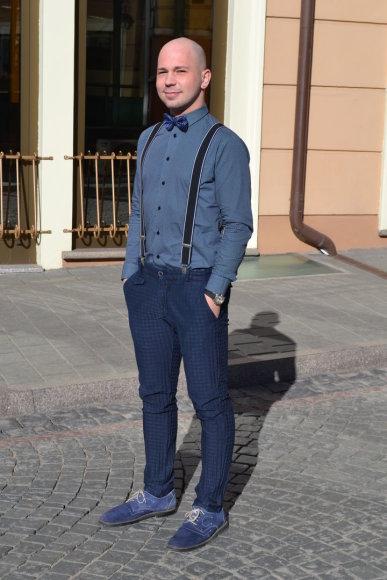 Gatvės stilius Vilniuje: Jonas