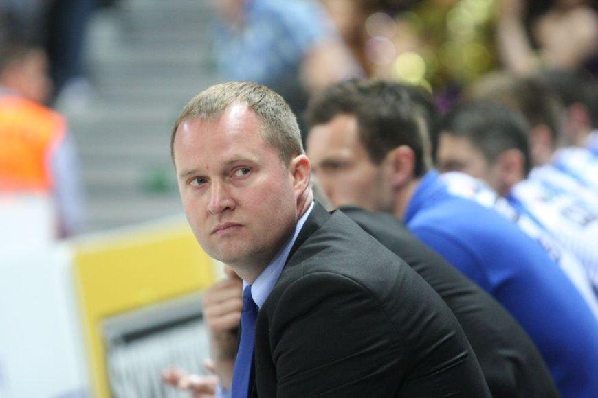 """""""Neptūno"""" treneris Kazys Maksvytis"""