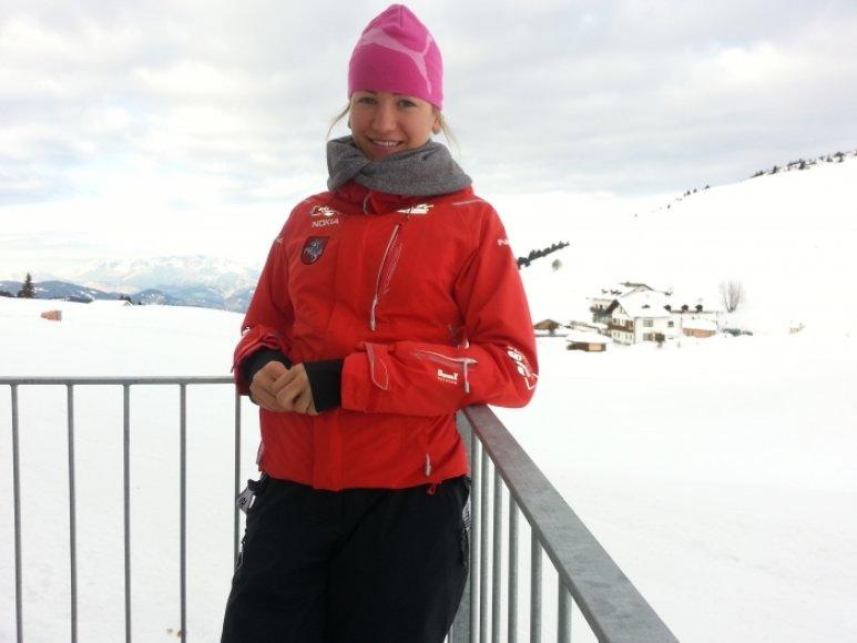 Ingrida Ardišauskaitė, Lietuvos slidininkė
