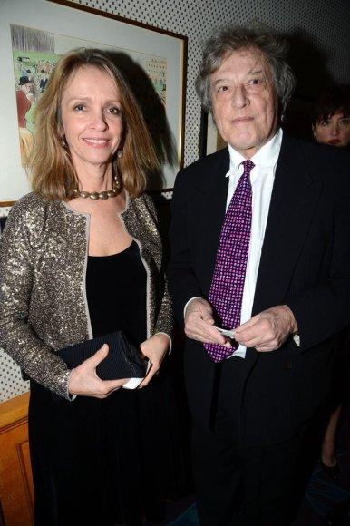 Tomas Stoppardas ir Sabrina Guinness