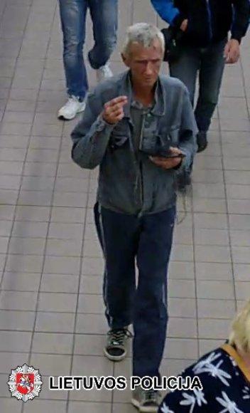 Policijos ieškomas įtariamasis