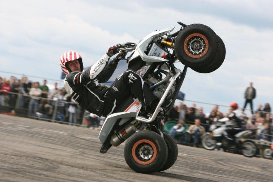 Keturratis motociklas