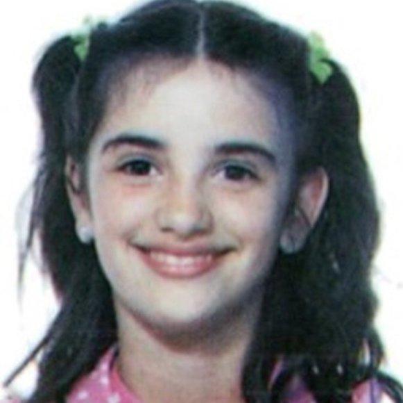 Penelope Cruz vaikystėje