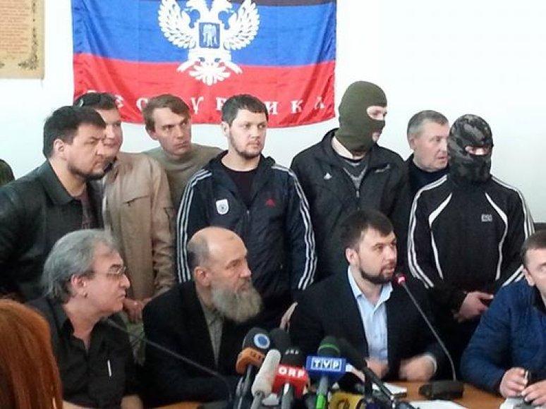 Donecko separatistai