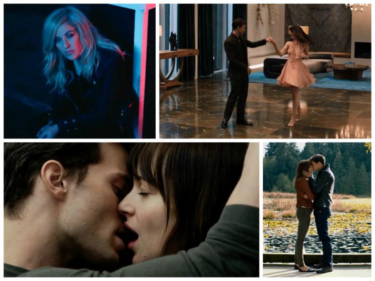 """Ellie Goulding klipe """"Love Me Like You Do"""" – scenos iš filmo """"50 pilkų atspalvių"""""""