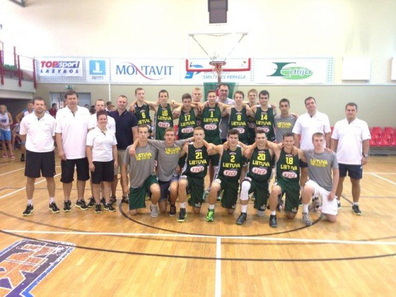 Lietuvos 16-mečių krepšinio rinktinė