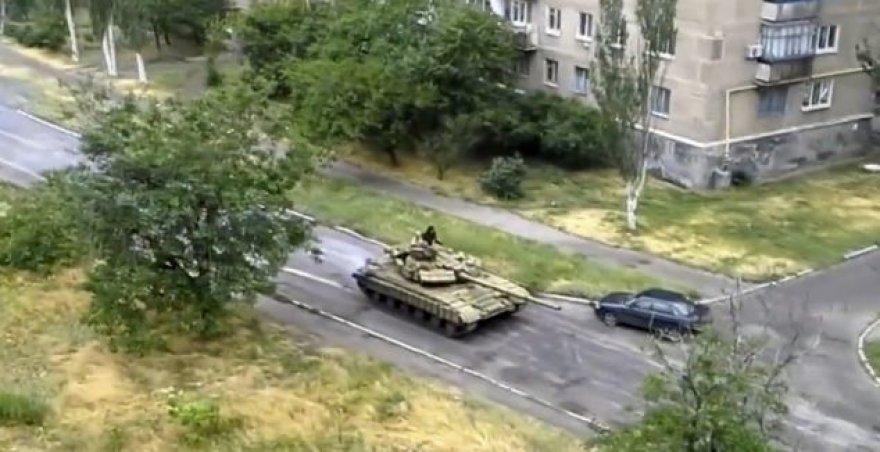 Rusijos tankai Ukrainoje