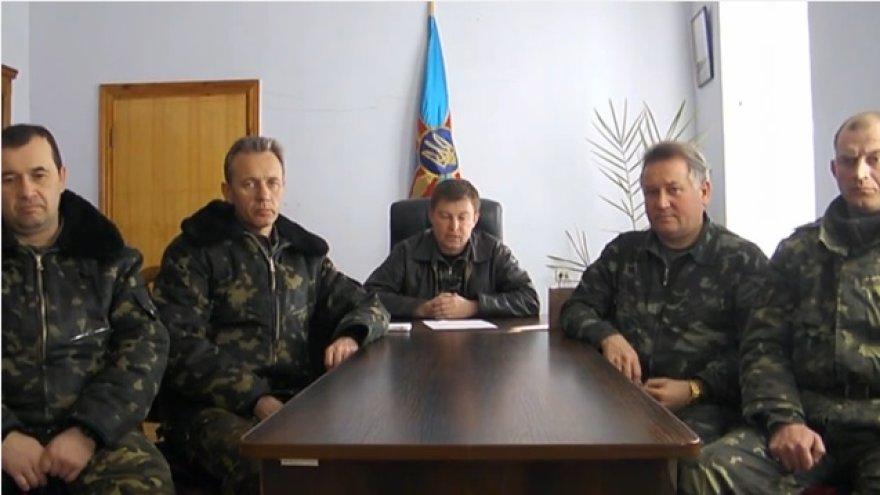 Ukrainos karinio dalinio Belbeke vadas Julijus Mamčuras