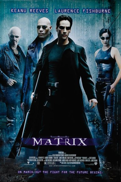 "Filmo ""Matrica"" afiša (1999 m.)"